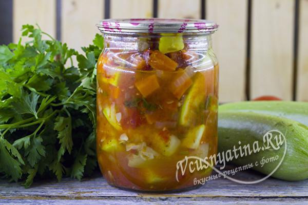 татарский салат