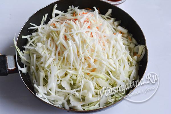 овощи протушить на сковороде