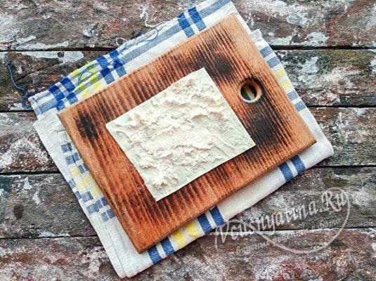 Намазать сыр
