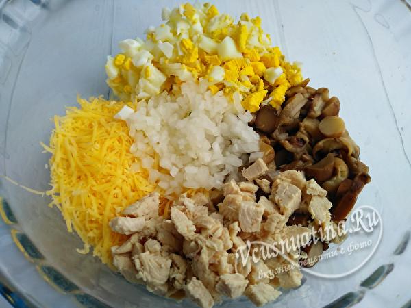 продукты в миске