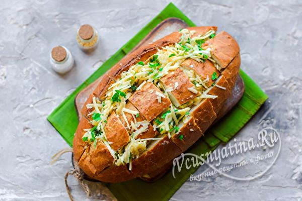 начинить хлеб