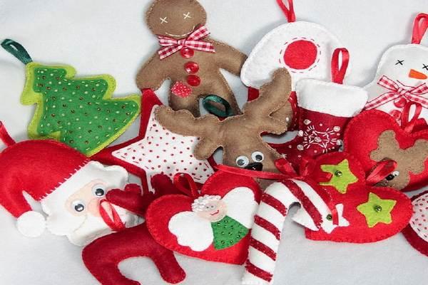 Поиск на Постиле: Новогодние игрушки из фетра