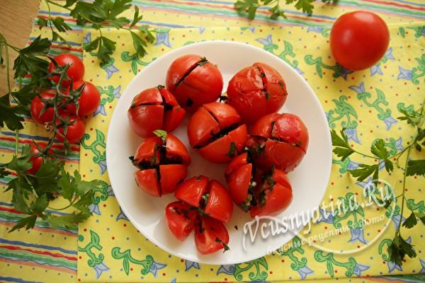 помидоры по-армянски готовы
