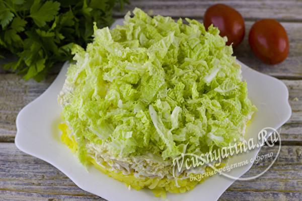 нежный и вкусный салат