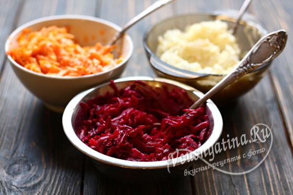 миски с овощами