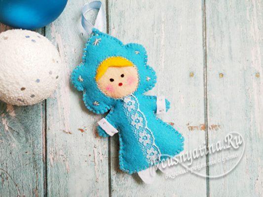 готовая снегурка