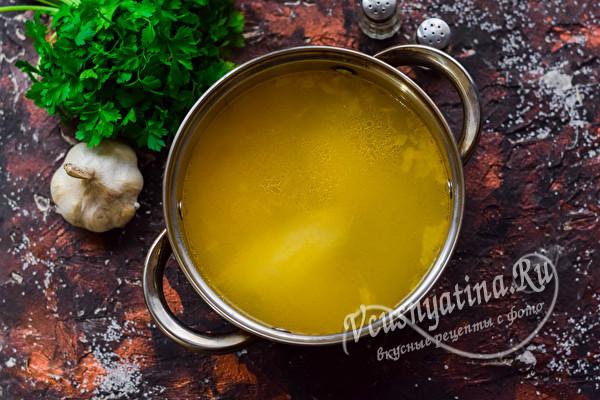 бульон для супа
