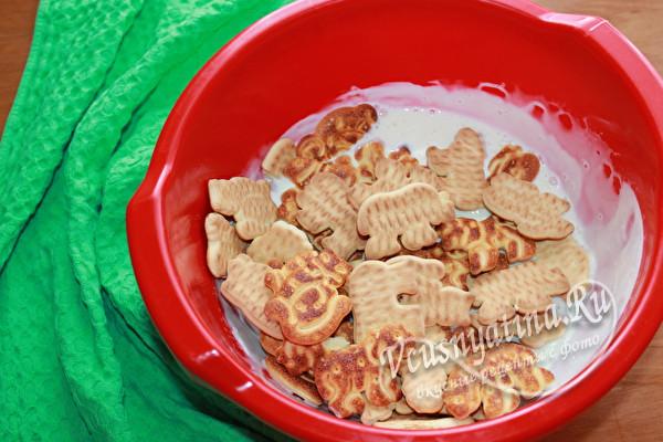 добавить печенье