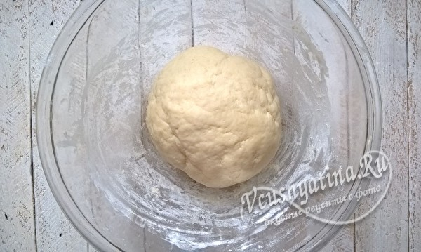 замесить тесто