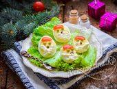 яйца дед мороз