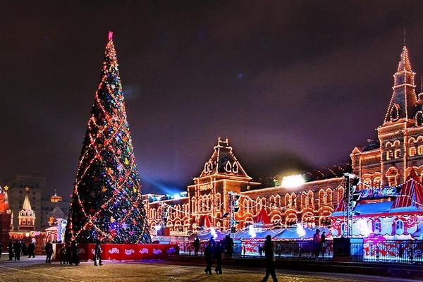 Новогодние елки 2018-2019 в Москве - куда сходить с детьми