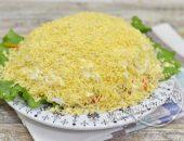 салат шпротный