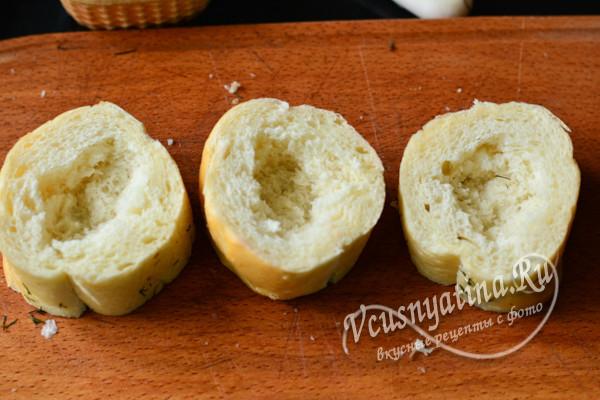 ямки в хлебе