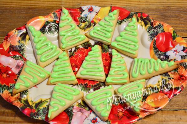 покрыть печенье айсингом