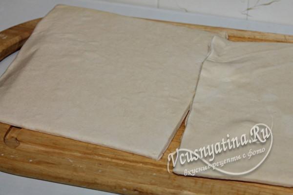 готовое слоеное тесто