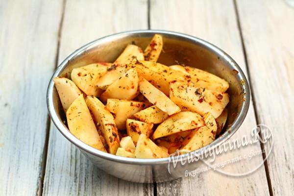 маринуем картофель