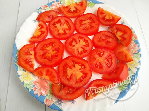 слой томата
