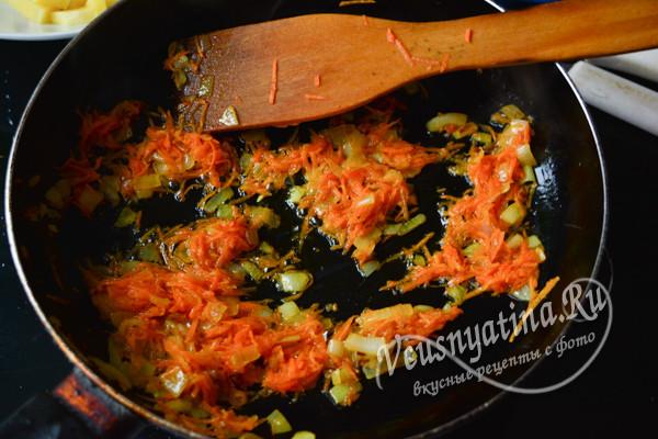 зажарка из овощей