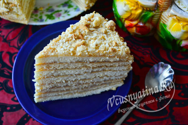 аппетитный кусочек торта
