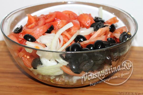 маринуем и овощи