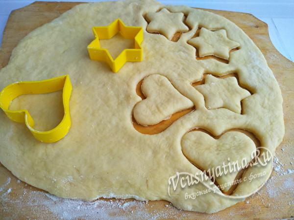 сделать печенье
