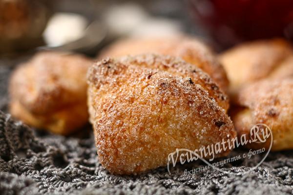 сладкое творожное печенье