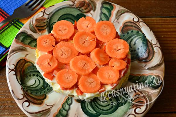 кольца моркови