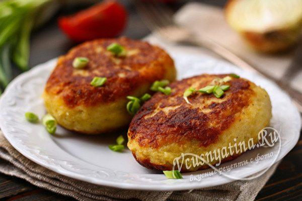зразы из картофеля