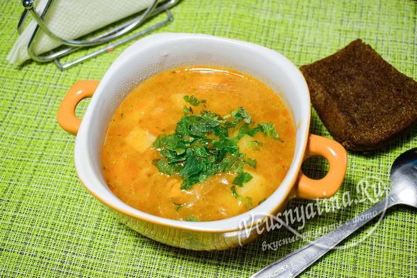 суп-харчо готов