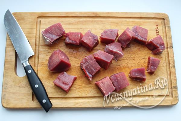 мясо для супа