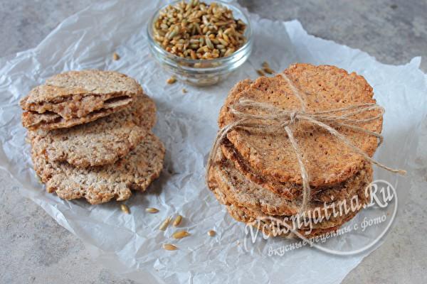 Хлебцы из пророщенной ржи