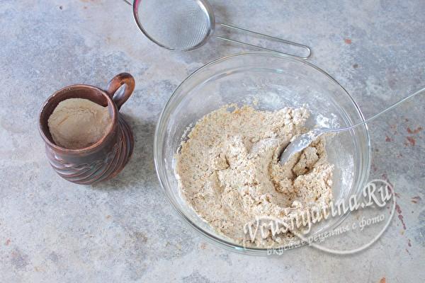 тесто для хлебцов