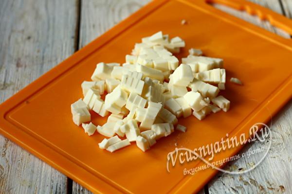 измельченный сыр