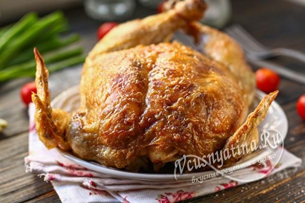 готовая фаршированная курица