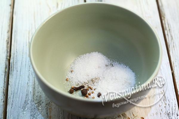 добавляем соль