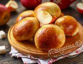 Пушистые пирожки с яблоками