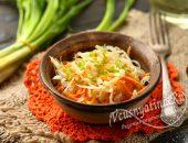 Салат с капустой и морковью