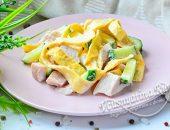 блинный салат