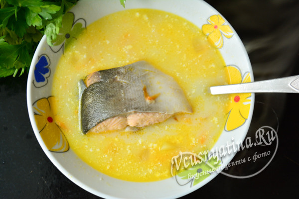 суп из горбуши