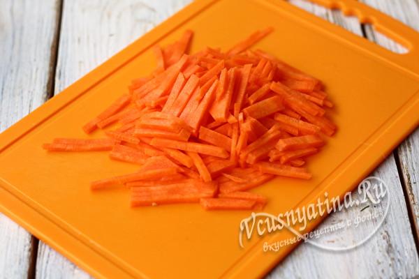 морковная соломка