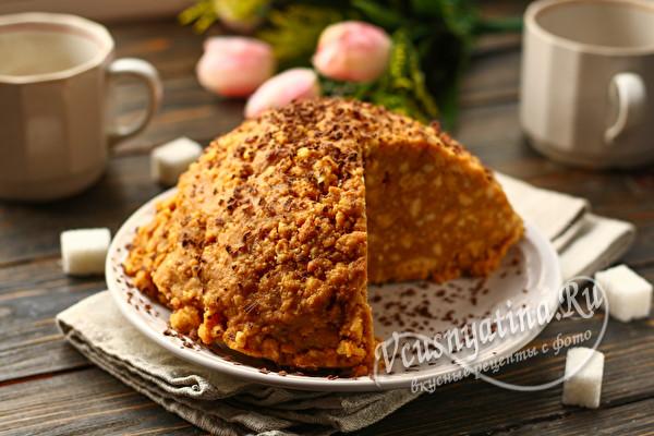 классический торт Муравейник