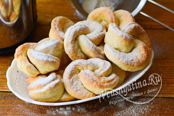 """печенье из творога """"Розочки"""""""