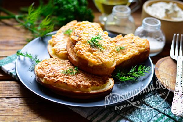 бутерброды с луком