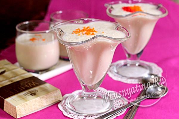 десерт готов