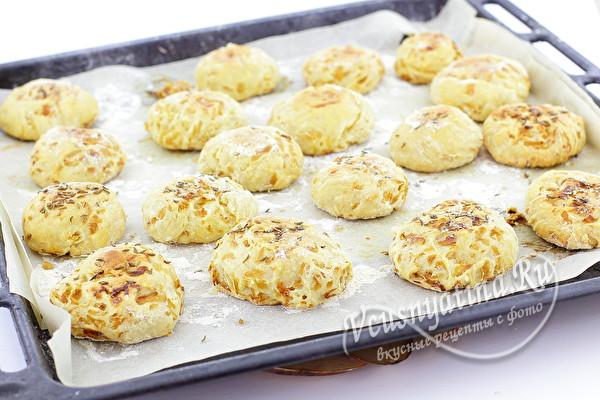 готовые булочки из капусты