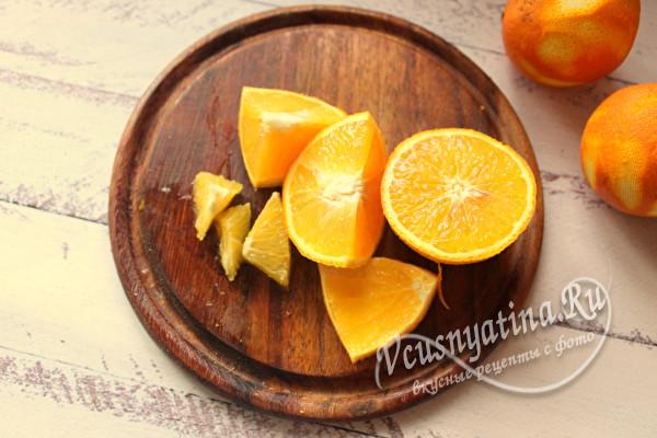 режем апельсины