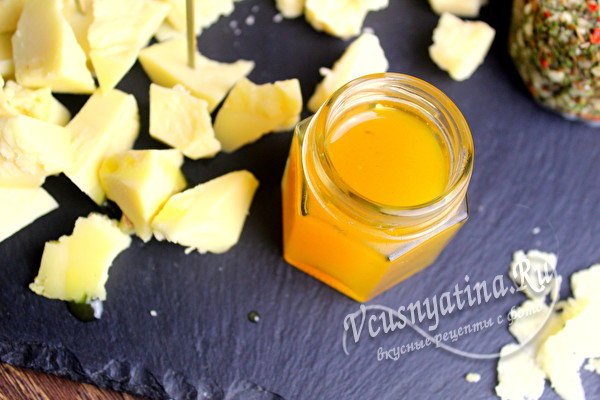 Апельсиновый конфитюр к сыру