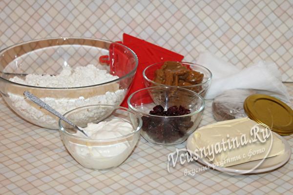 продукты для пасхи творожной