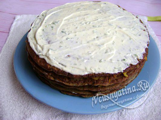 собранный тортик