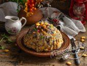 тортик из печенья